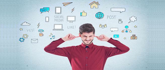 Depression in sozialen Medien