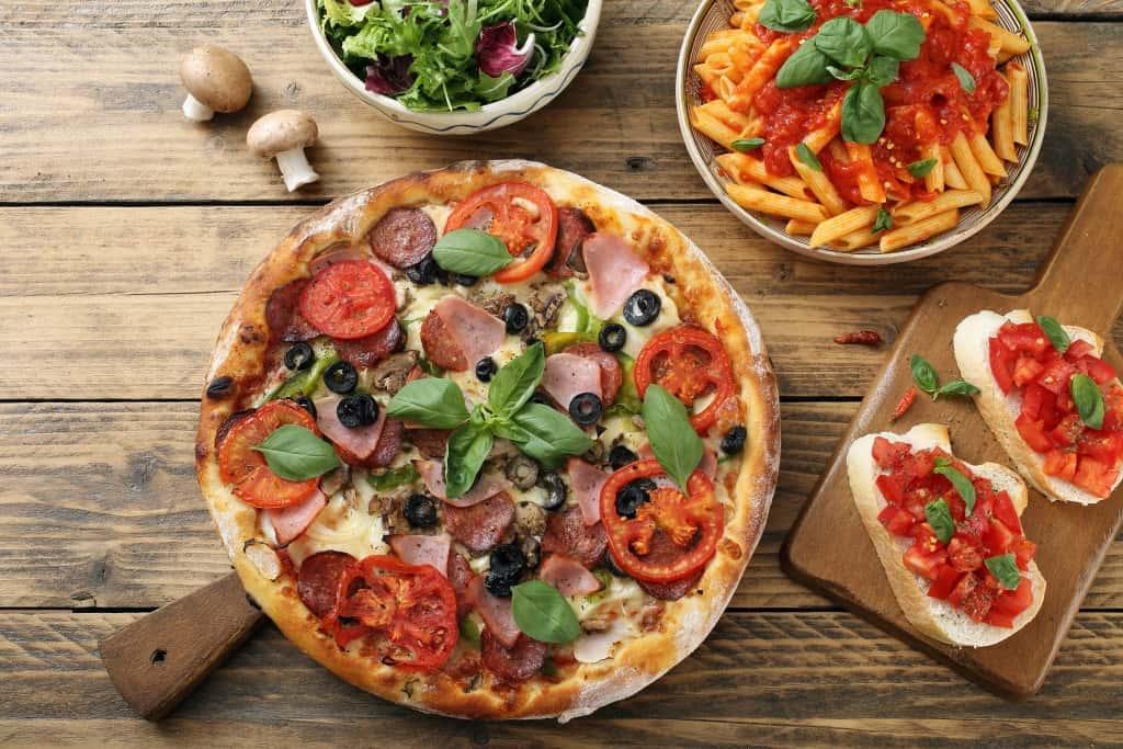 Arten von Pizzen