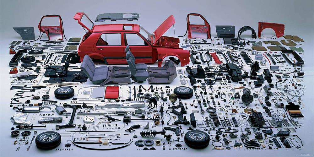 Günstige Ersatzteile bei einer Autoverwertung